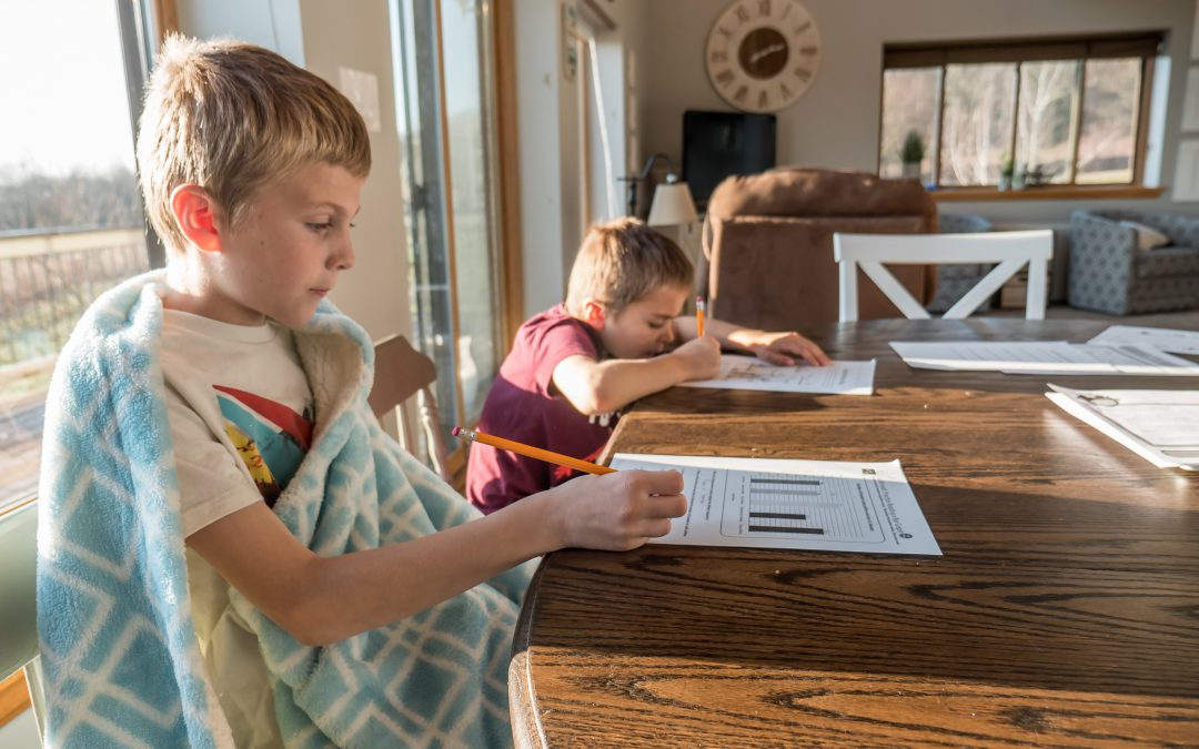 Teaching at the kitchen table; a quick guide to home-schooling for parents